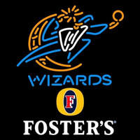 Fosters Washington Wizards NBA Beer Sign Neon Sign