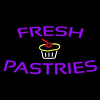 Fresh Pastries Neon Sign