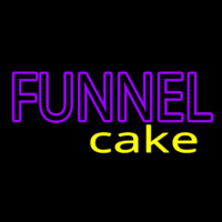 Funnel Cake Neon Sign