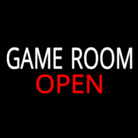 Game Room Open Real Neon Glass Tube Neon Sign