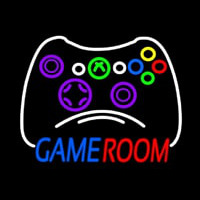 Game Room Xbo  Controller Neon Sign