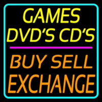 Games Dvds Cds Buy Sell E change 2 Neon Sign