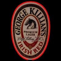 George Killians Irish Red Beer Sign Neon Sign