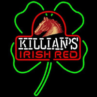 George Killians Irish Red Shamrock Beer Sign Neon Sign