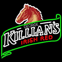 George Killians Irish Red Summer Beer Sign Neon Sign
