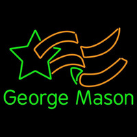 George Mason Patriots Primary 1982 2004 Logo NCAA Neon Sign Neon Sign