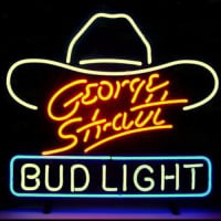 George Stratt Bud Neon Sign