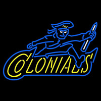 George Washington Colonials Alternate 1997 2007 Logo NCAA Neon Sign Neon Sign