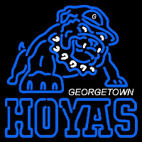 Georgetown Hoyas Alternate 0 Pres Logo NCAA Neon Sign Neon Sign