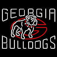 Georgia Bulldogs Alternate 1996 2000 Logo NCAA Neon Sign Neon Sign