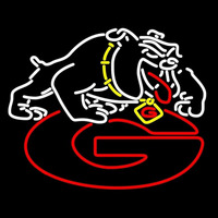 Georgia Bulldogs Uga Logo Neon Sign Neon Sign