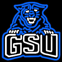 Georgia State Panthers Secondary 2010 Pres Logo NCAA Neon Sign Neon Sign