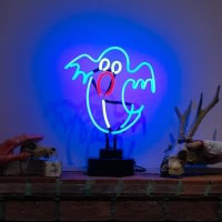 Ghost Desktop Neon Sign