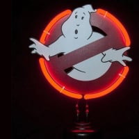 Ghostbusters Desktop Neon Sign