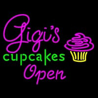 Gigi  Cup Cakes Neon Sign