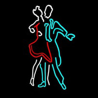 Girl Boy Dance Neon Sign