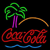 Go Coca Cola Tree Neon Sign
