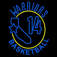 Golden State Warriors Primary 1972 73 1974 75 Logo NBA Neon Sign Neon Sign