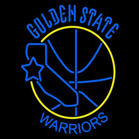 Golden State Warriors Primary 1975 76 1987 88 Logo NBA Neon Sign Neon Sign