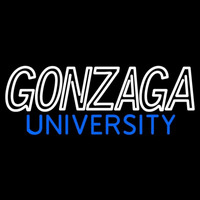 Gonzaga Bulldogs Wordmark 1998 Pres Logo NCAA Neon Sign Neon Sign