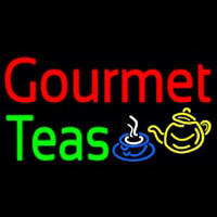 Gourmet Teas Neon Sign