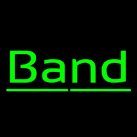 Green Band 1 Neon Sign