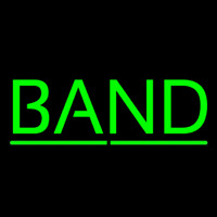 Green Band Neon Sign