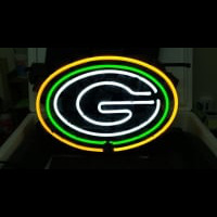 Green Bay Packers Football Neon Sign Neon Sign