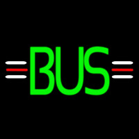 Green Bus Neon Sign