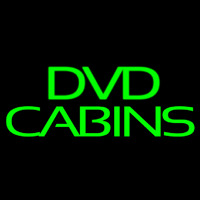 Green Dvd Cabins 2 Neon Sign