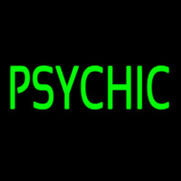 Green Psychic Neon Sign