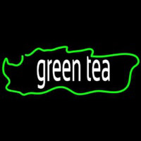 Green Tea Horizontal Neon Sign