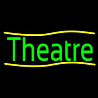 Green Theatre Neon Sign