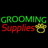 Grooming Supplies Neon Sign