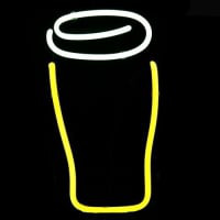 Guinness Bottle Logo Pub Display Neon Sign