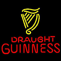 Guinness Draught Beer Sign Neon Sign