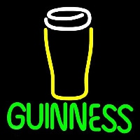 Guinness Glass Beer Sign Neon Sign
