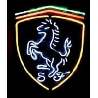 HORSE CAR AUTO LOGO Neon Sign
