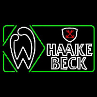 Haake Becks Beer Sign Neon Sign