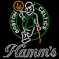 Hamms Boston Celtics NBA Beer Sign Neon Sign