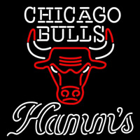 Hamms Chicago Bulls NBA Beer Sign Neon Sign