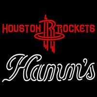 Hamms Houston Rockets NBA Beer Sign Neon Sign