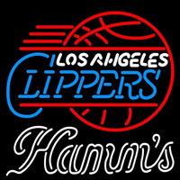 Hamms Los Angeles Clippers NBA Beer Sign Neon Sign