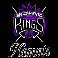 Hamms Sacramento Kings NBA Beer Sign Neon Sign