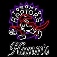 Hamms Toronto Raptors NBA Beer Sign Neon Sign