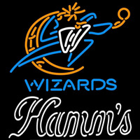 Hamms Washington Wizards NBA Beer Sign Neon Sign