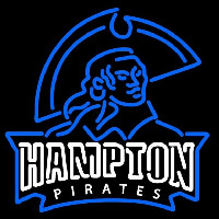 Hampton Pirates Alternate 2007 Pres Logo NCAA Neon Sign Neon Sign