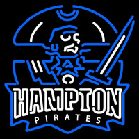 Hampton Pirates Neon Sign Neon Sign