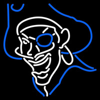 Hampton Pirates Primary 1997 2001 Logo NCAA Neon Sign Neon Sign