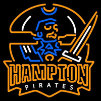 Hampton Pirates Primary 2002 2006 Logo NCAA Neon Sign Neon Sign